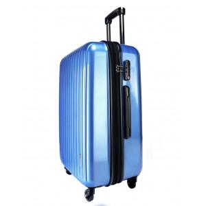 Vali kéo có khóa số du lịch Lock&Lock Travel Zone LTZ994BTSA 20inch - Màu xanh