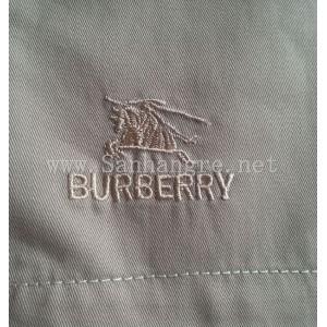 Quần ngố kaki nam Burberry màu sáng